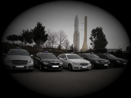 Quelques véhicule de La Toulousaine de Taxis.jpg