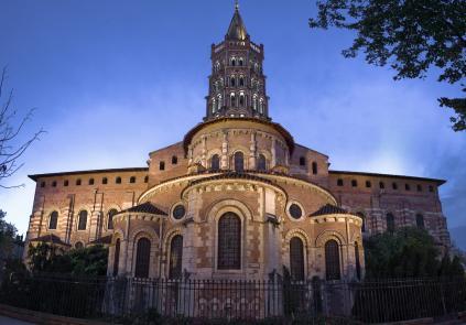 Toulouse basilique saint sernin